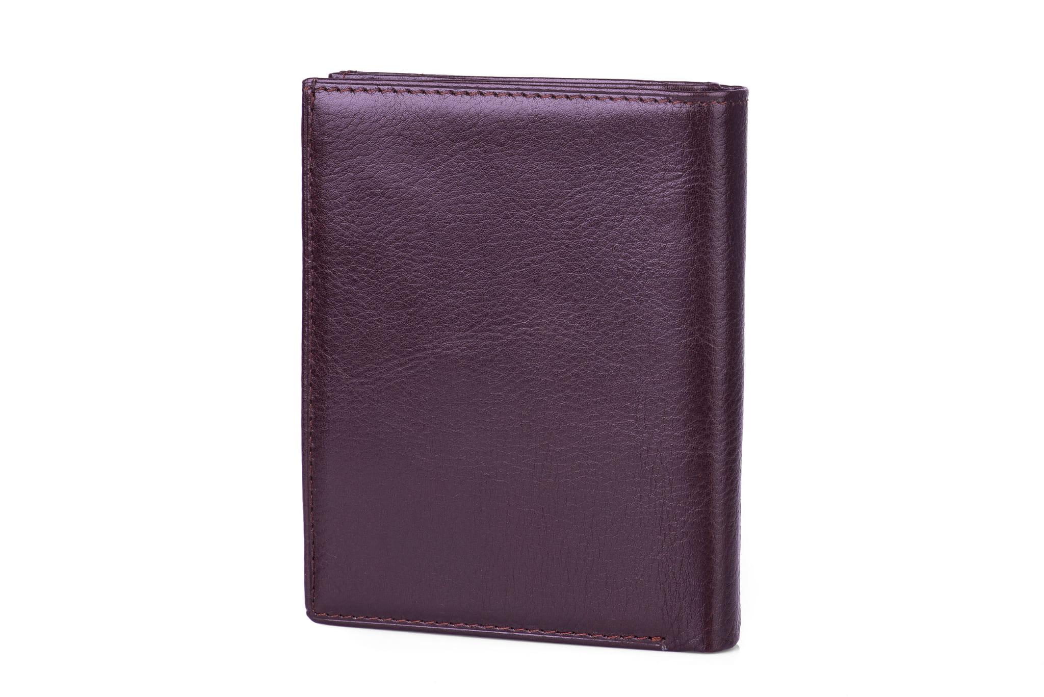 Portfel męski Skórzany Albatross Czarny Leather Box